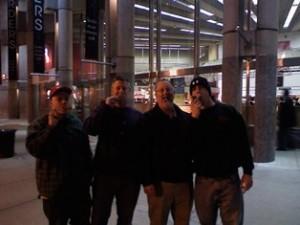 Boston 2009 Jon, Mike, Dan, Bobby