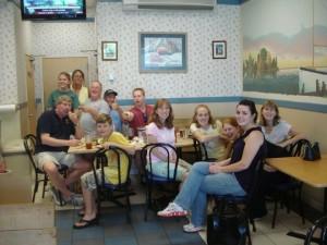 Captain Dan, Skipper Mike & assorted family
